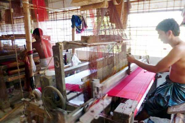 ১২০ একর জমিতে হচ্ছে 'শেখ হাসিনা তাঁতপল্লি'