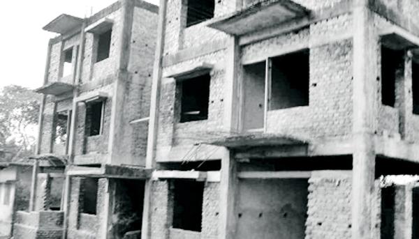 ৯ বছরেও শেষ হয়নি ভবন নির্মাণ কাজ